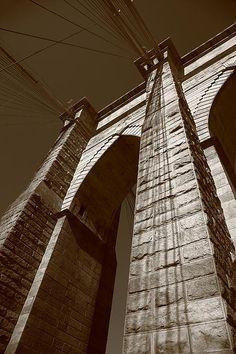 Brooklyn Bridge - New York City. Wall Art at http://frank-romeo.artistwebsites.com/