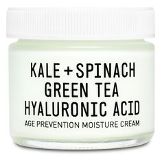 Women's Youth To The People Kale + Spinach Green Tea Hyaluronic Acid... (€42) ❤ liked on Polyvore featuring beauty products, skincare, face care, face moisturizers, beauty, makeup, accessories, cosmetics, filler and no color