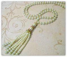 Collar de perlas  joyas de gran Gatsby  década de 1920