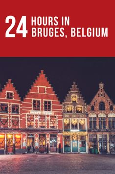 """Here is the perfect guide of what to do in Bruges in one day. Bruges, Belgium should be on your """"must see"""" list for European cities. I truly believe some places are deserving of an overnight trip at minimum, and Bruges is one of these. I left feeling like I needed another week."""