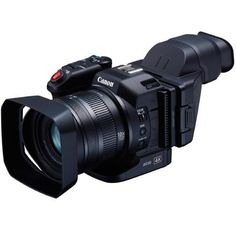 Canon XC10 Ultra High Definition 4K Professional Camcorder, 13.36MP, 8.9-89mm f/2.8-5.6 Lens, 10x Optical Zoom