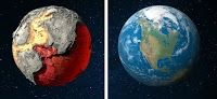 Large Meteorite Impacts Drove Plate-tectonic Processes on the Early Earth