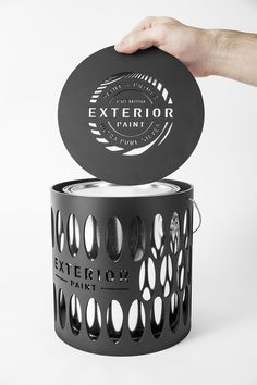 Exterior - Paint Can (Student Project) on Packaging of the World - Creative Package Design Gallery