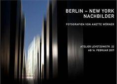 Februar 2017 Berlin-New York Nachbilder Die Berliner Fotografin Anette Wörner stellt Fotografien aus Berlin und New York gegenüber. Die Fotografien zeigen keine (dokumentarischen) Ab-bilder, sondern sind 'Nachbilder', die ihre Motive abstrahiert zeigen.