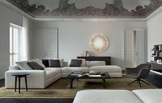 TAVOLINI - POLIFORM | Bristol Coffe Table | Leather,like ...