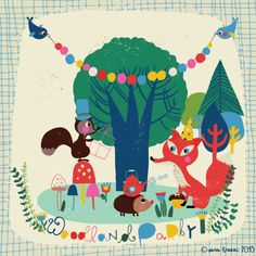 Woodland Party | Licensing | Drawn to better | Astound.us