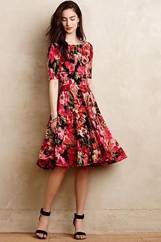 Photostat Floral Dress #anthropologie 4130294802035 My favvvvvorite!