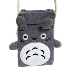Handmade Multipurpose Coin Purse / Cute Totoro Bag for Mobile - TrendyHQ