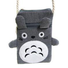 Handmade Multipurpose Coin Purse / Cute Totoro Bag for Mobile - TrendyHQ