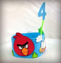Corona personalitzada d'Angry birds