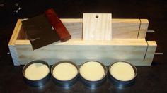 She's gone digital...: Homemade Lotion Bars Tutorial - Pringles can ideal size mold for the 4oz tins she's using.