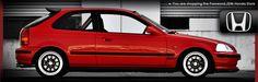 Exhaust for the 1988-1991 Honda Civic Hatchback   Password JDM