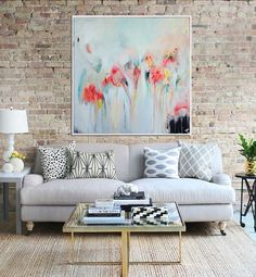 Abstract Painting Original Artwork Abstract Canvas by Artzaro