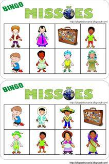 Jogo Bingo Missões
