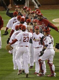 No Pujols, no problem: Cardinals roll to brink of World Series