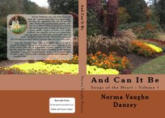 """New back and front cover for """"And Can It Be"""" Songs of the Heart series - Book 1 http://www.songsoftheheart.info"""