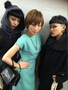 Shiina Ringo& Aya Bambi look gorgeous.