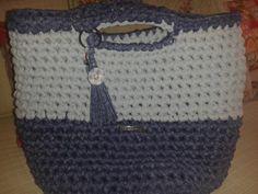 Capazo trapillo-crochet