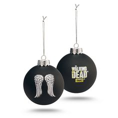 Exclusive Walking Dead Glass Wing Ornament
