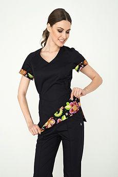 Медицинская принтованная одежда для медиков, врачей, медсестер – купить в интернет магазине Докторъ. Цены. Доставка Cute Scrubs Uniform, Stylish Scrubs, Dental, Cool Outfits, Clothes, Design, Style, Fashion, Shirtdress