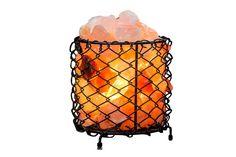Natural salt lamp bucket/ himalayansaltlamp.io salt bucket
