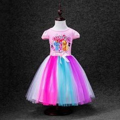 Baby Girls Princess Dress for Kids little pony/Elsa/Anna girls Short Sleeve Cotton Tutu Dresses For Girl Christmas Costume #>=#>=#>=#>=#> Click on the pin to check out discount price, color, size, shipping, etc. Save and like it!