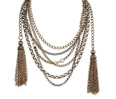Charlie Tassel Necklace