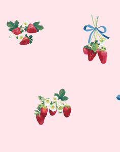 Home Decor Kitchen Strawberry is My Jam Wallpaper - Sky - Wallshoppe.Home Decor Kitchen Strawberry is My Jam Wallpaper - Sky - Wallshoppe Wallpaper Paste, Wallpaper Panels, Print Wallpaper, Wallpaper Roll, Peel And Stick Wallpaper, Cool Wallpaper, Botanical Wallpaper, Wallpaper Designs, My Jam