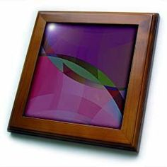 """Abstract, Purple and Pink - 8x8 Framed Tile by Beverly Turner Photography. $22.99. Inset high gloss 6"""" x 6"""" ceramic tile.. Dimensions: 8"""" H x 8"""" W x 1/2"""" D. Cherry Finish. Keyhole in the back of frame allows for easy hanging.. Solid wood frame. Abstract, Purple and Pink Framed Tile is 8"""" x 8"""" with a 6"""" x 6"""" high gloss inset ceramic tile, surrounded by a solid wood frame with predrilled keyhole for easy wall mounting."""