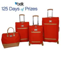 Jessica Simpson has you covered in the luggage depart. Enter now for your chance to win! #belk125
