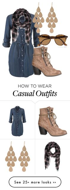 """Just Feeling Casual"" by luna1301 on Polyvore"