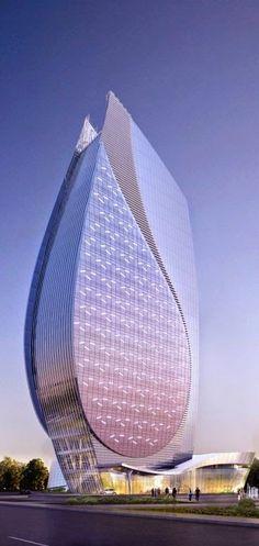 Azersu Office Tower, Baku, Azerbaijan - Holiday$pots4u