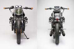 Monotone Masterpiece - Moto Guzzi 850T Cafe Racer ~ Return of the Cafe Racers