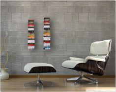 onzichtbare boekenplank - gecoat staal - 16x18 cm