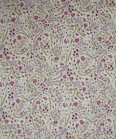 Liberty Art Fabrics Lillian's Berries B Tana Lawn