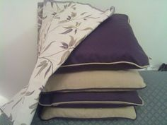 This is the fabric we used for the curtains and 2 other cushions, it looked really amazing