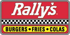 This logo uses the checkered finish line stripes, suggesting speed. It uses colors associated with racecar driving.
