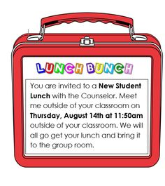 This blog post will address 2 things: Having a NEW STUDENT lunch bunch for students who are new to your school at the start of your year. Having a WELCOME TEAM to welcome newstudentsall year lon…