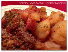 EASY Italian Beef Slow Cooker Recipe