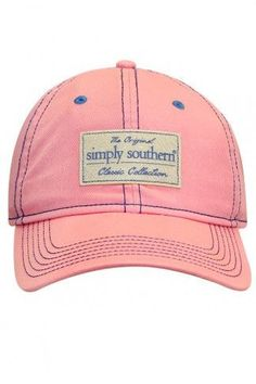 Simply Southern Classic Hat - Pink b1d5d9919455