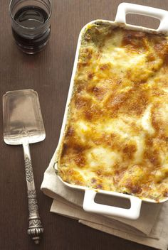 Butternut Squash Lasagna with Sage and Lemon butter