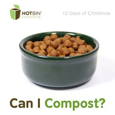 Discover everything pet-wise including gifts, bedding, food and pet waste that can be composted this Christmas in the HOTBIN. http://www.hotbincomposting.com/blog/away-in-hay-manger.html | #ZeroWaste #recycling #christmas #hotbin