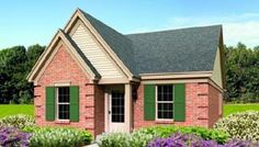 Elevation of Traditional   House Plan 47374