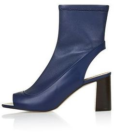 Womens Bright Navy Melon Stretch P Toe Sock Boot Blue From Top 72 At Clothingbycolour