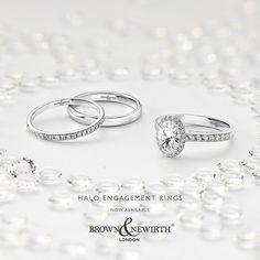 989bf5f34 21 Best Brown & Newirth Diamond Set Wedding / Eternity Rings images ...