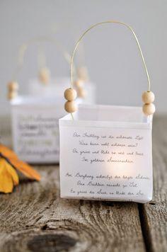 sac à lumière - anses et perles