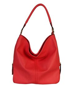 Another great find on #zulily! Coral Chic Hobo #zulilyfinds