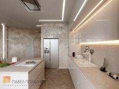 Фото интерьер кухни из проекта «Дизайн четырехкомнатной квартиры 117 кв.м. в стиле минимализм, ЖК «Премьер палас»»
