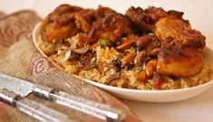 Arabic Food Recipes For Ramadan - Roasted Chicken Al-Kabsa
