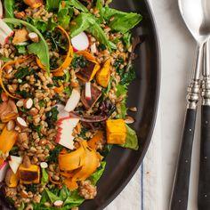 Farmhouse Farro Salad / @loveandlemons